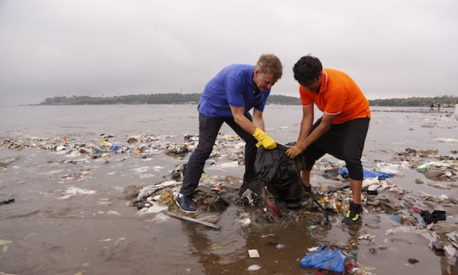 Vervuiling in oceanen