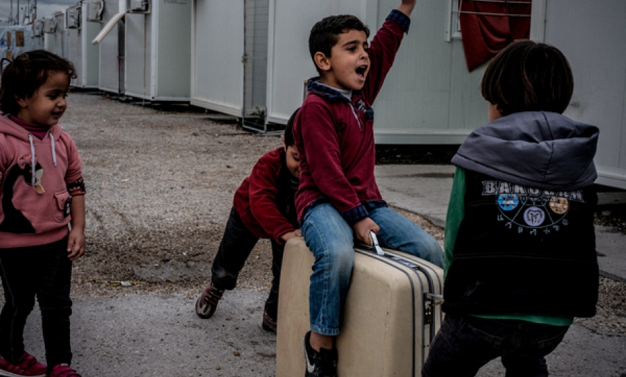 Kinderen op de vlucht